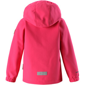 Reima Kids Vantti Softshell Jacket Candy Pink